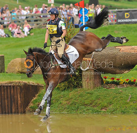 LEMINGTON LETT DANCE and Piggy French, Bramham Horse Trials, 2010