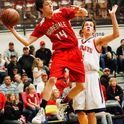 Basketball: Homedale vs. Filer (3A semifinal) 3/7/14