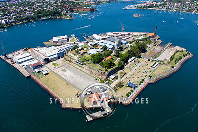Sydney Islands Aerial Photography