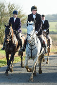 Dick Wise At Timothy's. The Cottesmore Hunt at Hill Top Farm 11/12