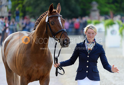 Sandra Auffarth and OPGUN LOUVO - Mitsubishi Motors Badminton Horse Trials 2013