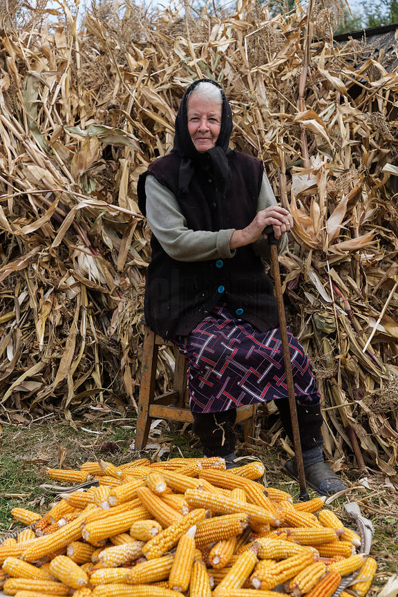 Portrait of Iliana Selling Corn