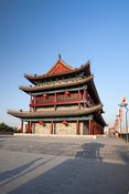 Tower on the ancient wall of Xian, China