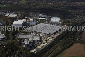 Runcorn aerial photograph of Whitehouse Industrial Estate