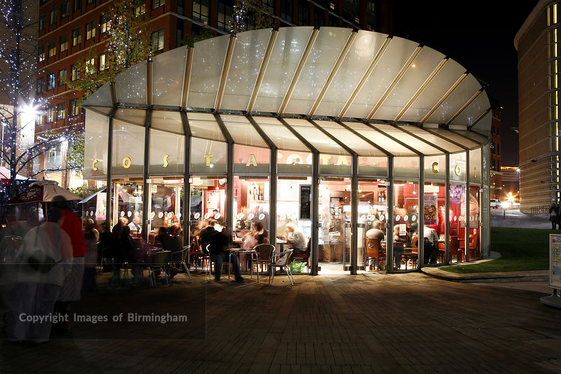 Images Of Birmingham Photo Library Costa Coffee Shop In