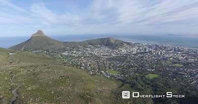 Drone Video Capetown Tabletop Mountain South Africa