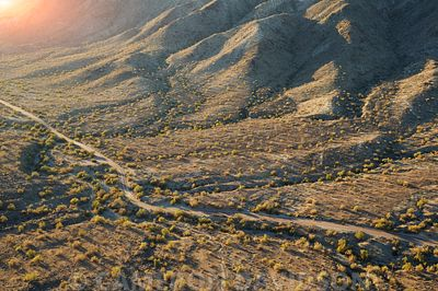 Aerial photograph of South Mountain Park