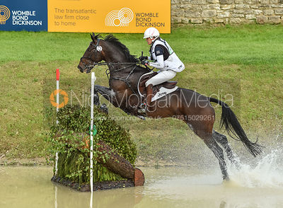 Gwendolen Fer and ROMANTIC LOVE, Equitrek Bramham Horse Trials 2018