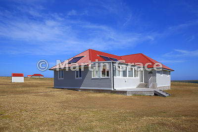 Cassard House tourist accommodation, Bleaker Island, Falkland Islands