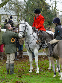 Tom Kingston at the meet at Buckminster