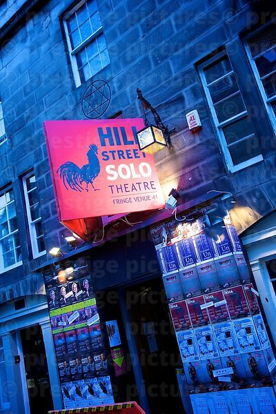 Fringe Festival Hill Street Theatre is set up in the Oldest Masonic Lodge in Scotland - The Lodge of Edinburgh No 1