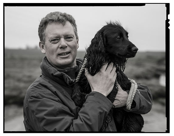 A dog lover ...and chief executive of beer maker Shepherd Neame,