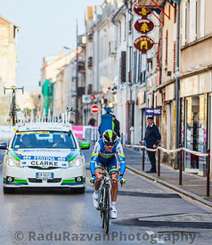 The Cyclist Clarke Simon- Paris Nice 2013 Prologue in Houilles