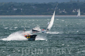 Windy Day on the Solent.