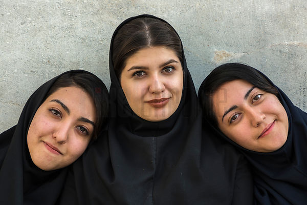 Three Iranian Teenagers
