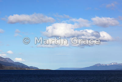 The Beagle Channel from cruise vessel Ortelius (Oceanwide Expeditions), Tierra del Fuego, Argentina
