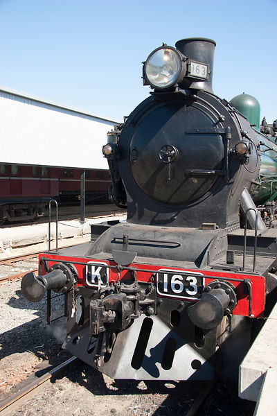 steam engine K163