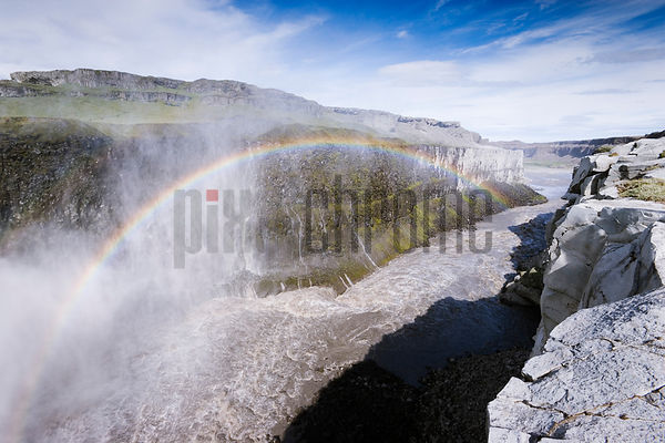 Iceland's Grand Canyon, Dettifoss (Dirty Falls), Iceland