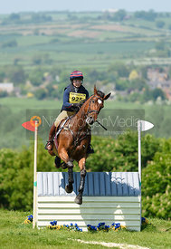 Emma Chamings and TREFEINON SOVEREIGN, Fairfax & Favor Rockingham Horse Trials 2018