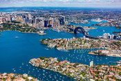 Kurraba Point and Sydney City