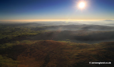 aerial photograph of Bannisdale Head, Selside, Kendal LA8 9JZ, UK