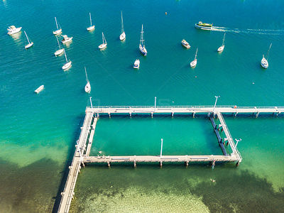 Gunnamatta Bay tidal pool is located at the northern end of Gunnamatta Bay. Piers mark the boundaries and underneath them are...
