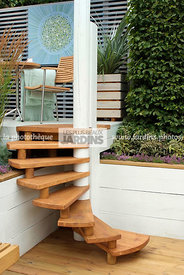 Garden chair, garden designer, Garden furniture, Garden table, Stair, Terrace, Contemporary Terrace, Digital