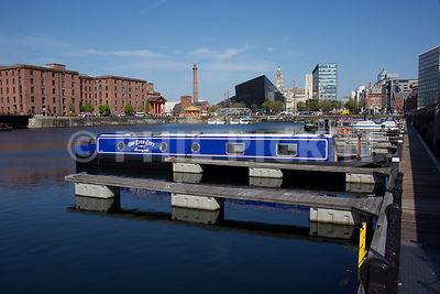 One Eyed City in the Albert Dock