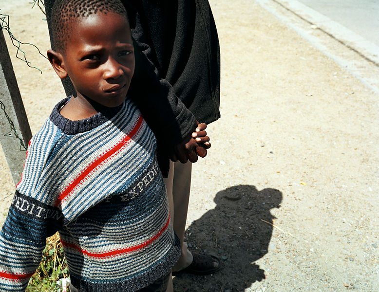 Black boy, Gugulethu, Cape Town, South Africa
