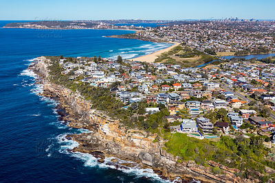 Dee Why Cliffs Looking South