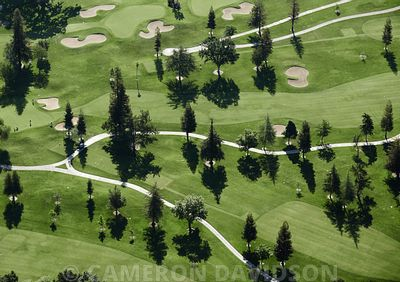 Aerial California, Golf Course