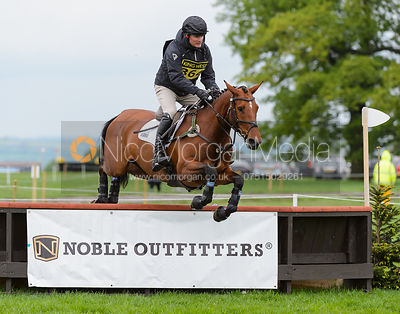 J-P Sheffield and ELECTRIC LUX - Rockingham International Horse Trials 2017