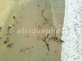 Lumley Beach, Freetown, Sierra Leone