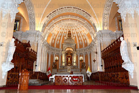Interior of cathedral , Arequipa , Peru