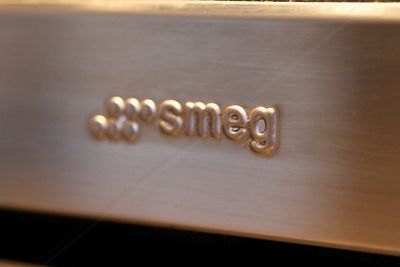 Smeg Logo on Cooker