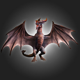 CG Wyvern Dragon stock photos