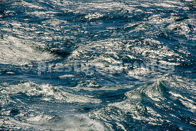 Closeup of Light Reflecting off the Surface of the sea