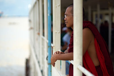 Monk on Ferry