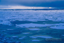 Ice-Floes and Clouds
