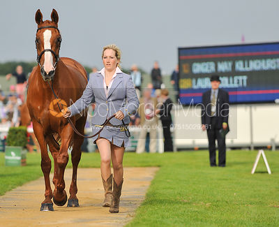 Laura Collett and Ginger May Killinghurst - 2nd Inspection - Burghley 2010