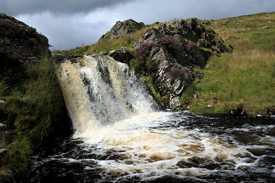 Waterfall on the River Camddwr