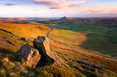 Shining Tor sunset | Peak District Photography