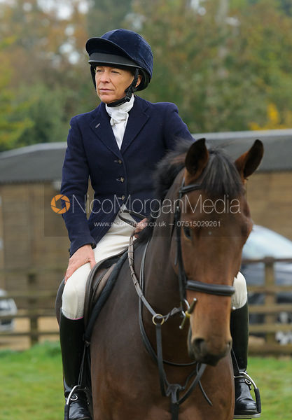 Nicky Hanbury at the meet - The Cottesmore at Langham.