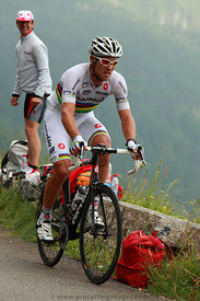 The Cyclist Thor Hushovd - Tour de France 2011