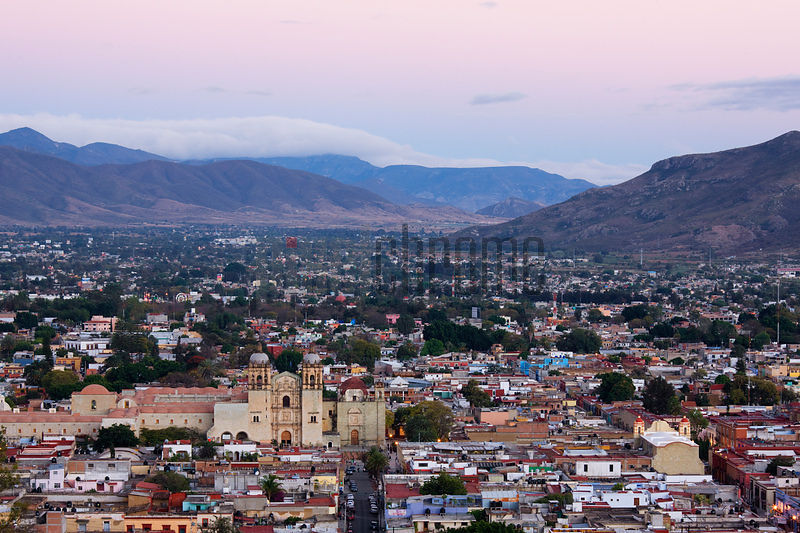 View of the City of Oaxaca