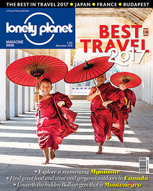 Lonely Planet traveller magazine Best in Travel 2016 cover