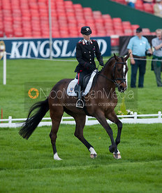 Susanna Bordone (ITA) and Carrera - Dressage