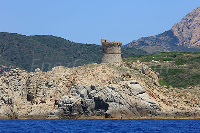Omigna Genoese tower Corsica