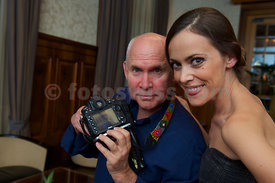 SAM St.Moritz Art Masters 2012 SAM Photoshoting Steve McCurry of Sandra Bauknecht