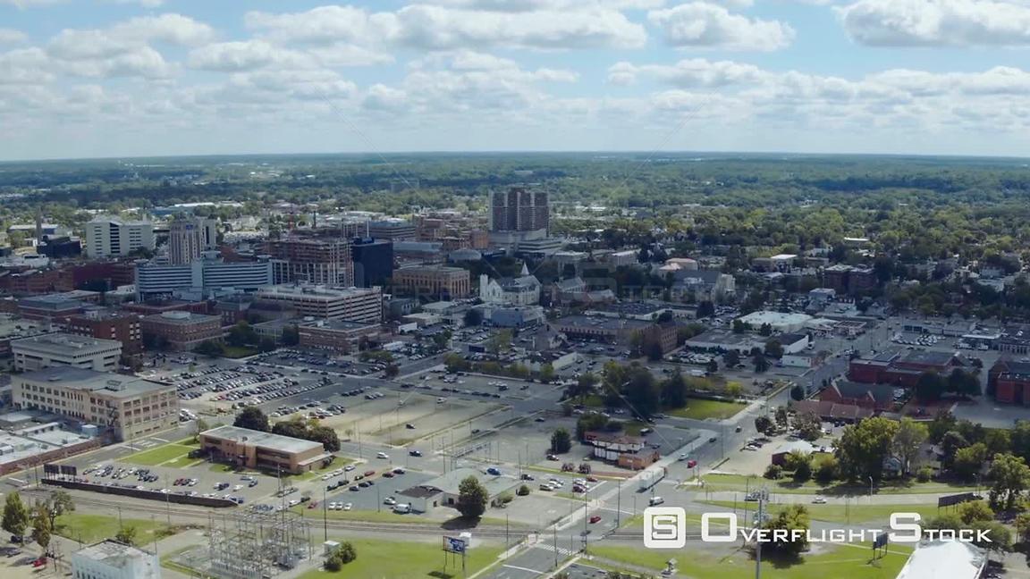 OverflightStock | Drone Video Cityscape Kalamazoo Michigan